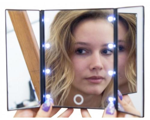 Зеркало складное портативное Gess uLike Porto