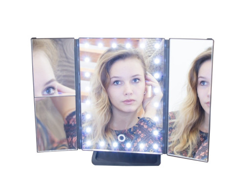 Зеркало для макияжа складное Gess uLike