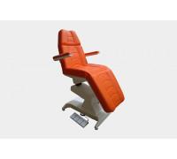 Косметологическое кресло Ондеви-4 с подлокотниками и педалями управления